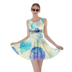 Seashells Skater Dress