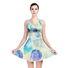Seashells Reversible Skater Dress