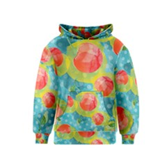 Red Cherries Kids  Pullover Hoodie