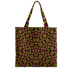 Tishrei King Four I Zipper Grocery Tote Bag by MRTACPANS