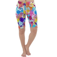Anemones Cropped Leggings
