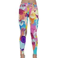 Anemones Yoga Leggings