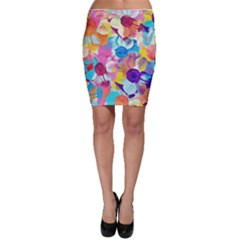 Anemones Bodycon Skirt