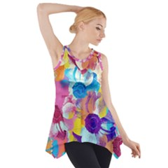 Anemones Side Drop Tank Tunic