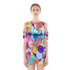 Anemones Women s Cutout Shoulder One Piece