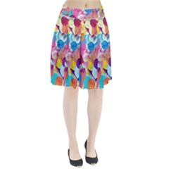 Anemones Pleated Skirt