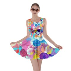 Anemones Skater Dress by DanaeStudio