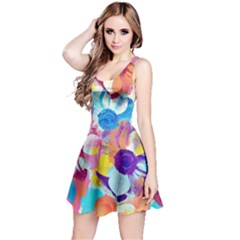 Anemones Reversible Sleeveless Dress