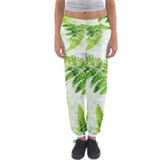 Fern Leaves Women s Jogger Sweatpants