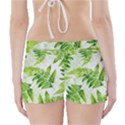 Fern Leaves Boyleg Bikini Wrap Bottoms View2