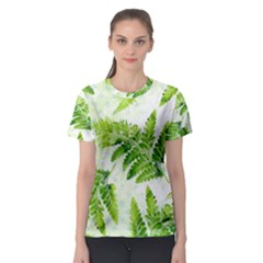 Fern Leaves Women s Sport Mesh Tee by DanaeStudio