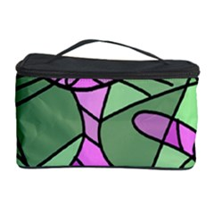 Artistic Cat   Purple Cosmetic Storage Case by Valentinaart