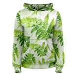 Fern Leaves Women s Pullover Hoodie