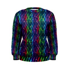 Colorful Lines Women s Sweatshirt