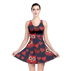 Owl You Need In Love Owls Reversible Skater Dress