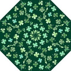 Lucky Shamrocks Straight Umbrellas by BubbSnugg