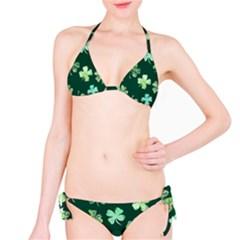 Lucky Shamrocks Bikini Set by BubbSnugg