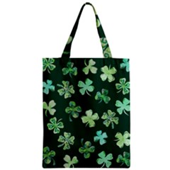 Lucky Shamrocks Classic Tote Bag by BubbSnugg