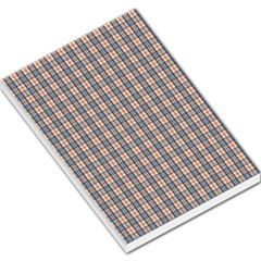 Chequered Plaid Large Memo Pads