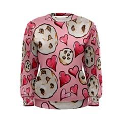 Chocolate Chip Cookies Women s Sweatshirt by BubbSnugg