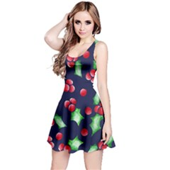 Holly Jolly Christmas Reversible Sleeveless Dress