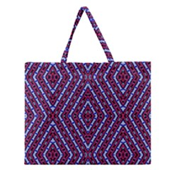 Water Damage Zipper Large Tote Bag by MRTACPANS