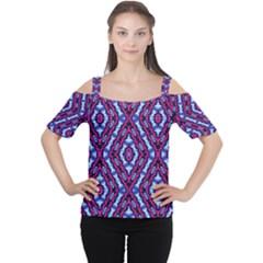 Hnjytyjj, Women s Cutout Shoulder Tee by MRTACPANS