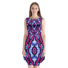 Hnjytyj Sleeveless Chiffon Dress
