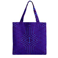 Heart Rest Five Zipper Grocery Tote Bag
