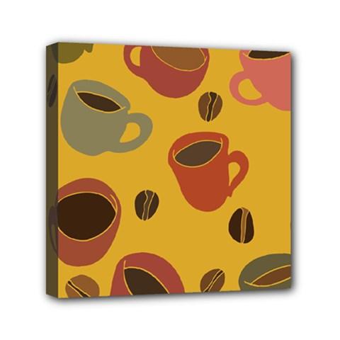 Coffee Lover Mini Canvas 6  X 6