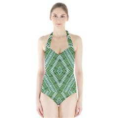 Protect Two Halter Swimsuit