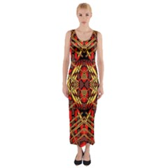Bull Eteese N Gun Fitted Maxi Dress