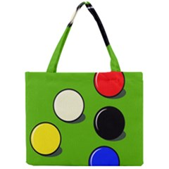 Billiard  Mini Tote Bag by Valentinaart
