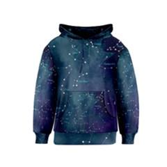 Constellations Kids  Pullover Hoodie