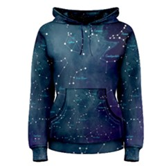 Constellations Women s Pullover Hoodie by DanaeStudio