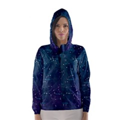 Constellations Hooded Wind Breaker (women)