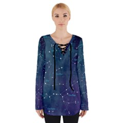 Constellations Women s Tie Up Tee