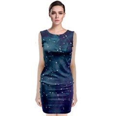 Constellations Classic Sleeveless Midi Dress