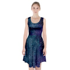 Constellations Racerback Midi Dress