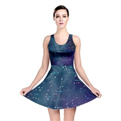 Constellations Reversible Skater Dress