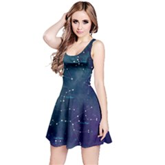 Constellations Reversible Sleeveless Dress
