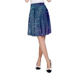 Constellations A Line Skirt