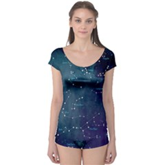 Constellations Boyleg Leotard