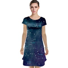 Constellations Cap Sleeve Nightdress