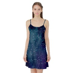Constellations Satin Night Slip