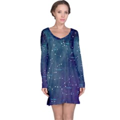Constellations Long Sleeve Nightdress