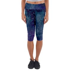 Constellations Capri Yoga Leggings