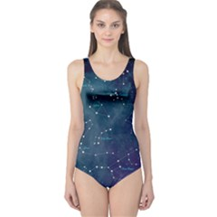 Constellations One Piece Swimsuit by DanaeStudio