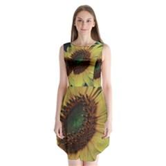 Sunflower Photography  Sleeveless Chiffon Dress