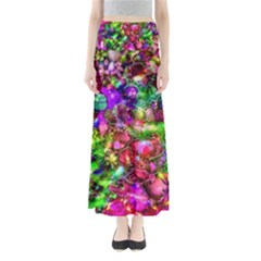 Pink Floral Abstract Maxi Skirts by KirstenStar